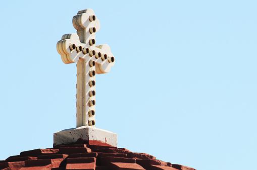 パトモス島「Catholic cross」:スマホ壁紙(5)