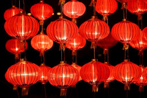 Chinese Lantern「Red Lanterns」:スマホ壁紙(9)