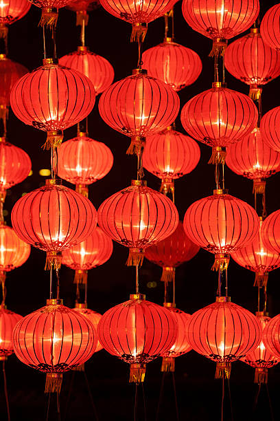 Red lanterns for Chinese Traditional Festival:スマホ壁紙(壁紙.com)