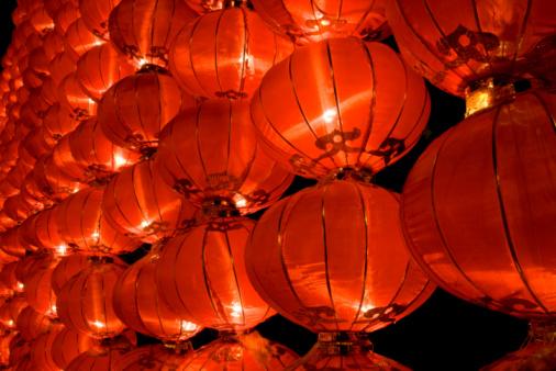 Chinese Lantern Festival「Red lantern」:スマホ壁紙(8)