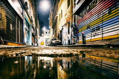 Dirt Road「Alley reflections.」:スマホ壁紙(4)