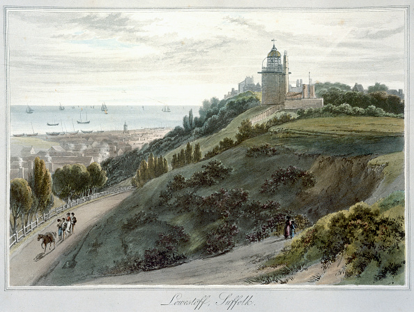 Etching「Lowestoft Suffolk' 1814-1825」:写真・画像(19)[壁紙.com]
