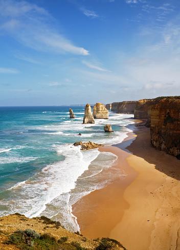Great Ocean Road「Coastal view of Twelve Apostles, Victoria, Australia」:スマホ壁紙(2)