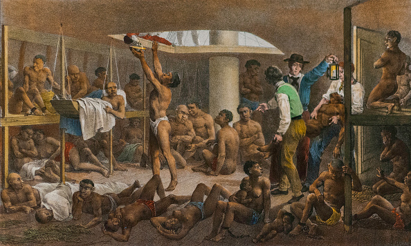 Ship「Slaves In The Cellar Of A Slave Boat」:写真・画像(9)[壁紙.com]