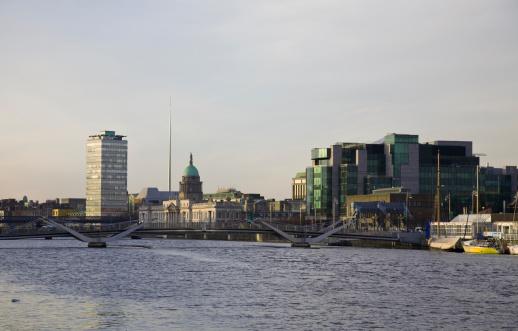 Liffey River - Ireland「Dublin City」:スマホ壁紙(10)