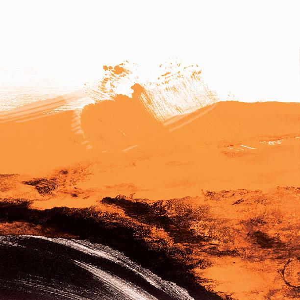 Black and Orange Grunge Wallpaper:スマホ壁紙(壁紙.com)