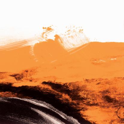 Art「Black and Orange Grunge Wallpaper」:スマホ壁紙(9)