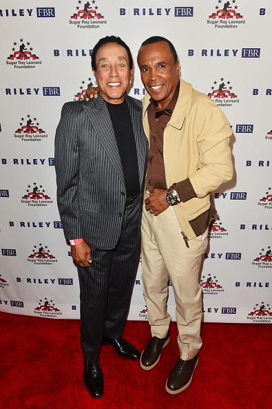 Black Shoe「Sugar Ray Leonard Foundation's 10th Annual 'Big Fighters, Big Cause' Charity Boxing Night Presented by B. Riley FBR」:写真・画像(5)[壁紙.com]