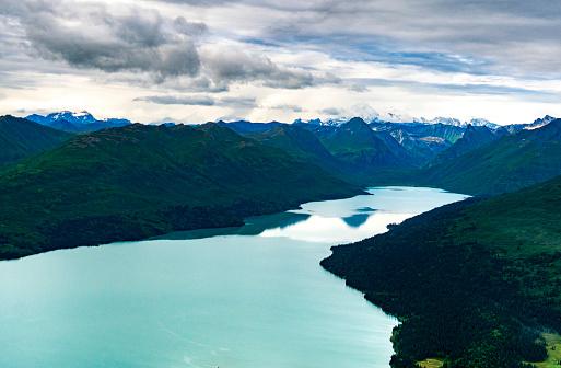 Alaska Range「Chelatna Lake, Alaska, USA」:スマホ壁紙(16)