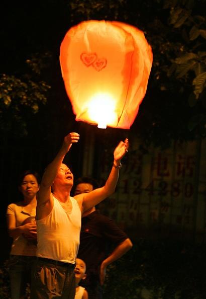 Chinese Lantern「Chinese People Mark 2007 Mid-autumn Festival」:写真・画像(1)[壁紙.com]