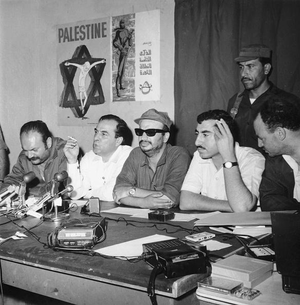 Press Room「Arafat At Press Conference」:写真・画像(18)[壁紙.com]