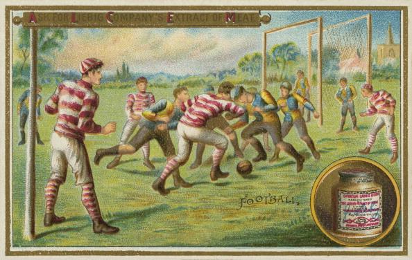 Chromolithograph「Football match」:写真・画像(15)[壁紙.com]