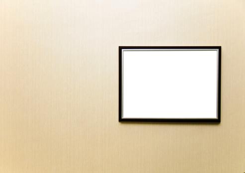 Black Color「Blank frame」:スマホ壁紙(12)