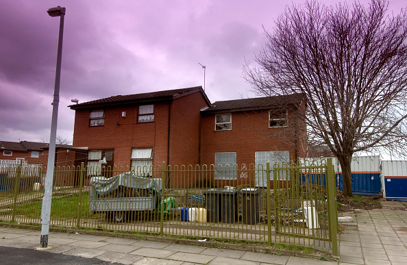 Wall - Building Feature「Derelict housing estate, Manchester」:写真・画像(8)[壁紙.com]