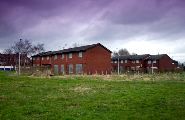 Boarded Up「Derelict housing estate, Manchester」:写真・画像(16)[壁紙.com]