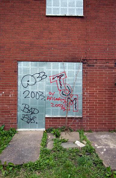 Brick Wall「Derelict housing estate, Manchester」:写真・画像(12)[壁紙.com]