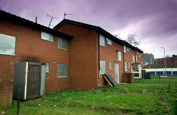 Brick Wall「Derelict housing estate, Manchester」:写真・画像(17)[壁紙.com]