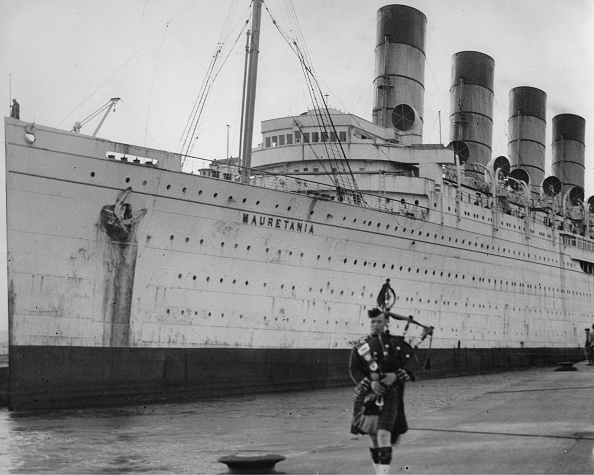 乗客輸送船「Ocean Liner Rms Mauretania」:写真・画像(2)[壁紙.com]