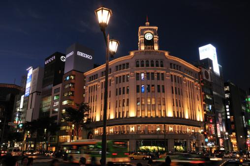 Ginza「Night View of Downtown Tokyo」:スマホ壁紙(8)