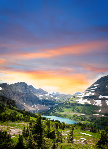 National Park「Glacier National Park view」:スマホ壁紙(15)
