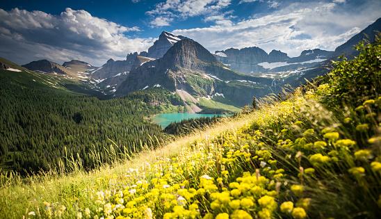 Grinnell Glacier「Glacier National Park, Montana」:スマホ壁紙(3)