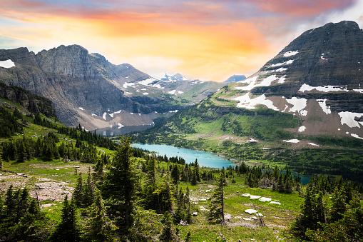 Wilderness Area「Glacier National Park, Montana, USA」:スマホ壁紙(18)