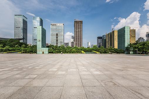 Guangdong Province「Shenzhen Skyline」:スマホ壁紙(13)