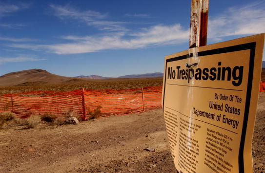Mountain「Proposed Radioactive Waste Site in Nevada」:写真・画像(8)[壁紙.com]