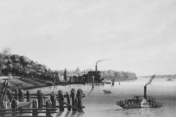Steamboat「View Of Hoboken Taken From The Ferry」:写真・画像(15)[壁紙.com]