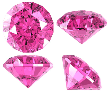 Glass - Material「Pink diamond (4 positions)」:スマホ壁紙(17)
