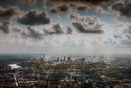 Awe「Aeral view of London from the East」:スマホ壁紙(12)