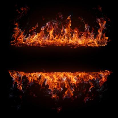 Fire - Natural Phenomenon「Fire frame」:スマホ壁紙(12)