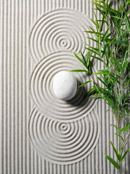 Bamboo in a Zen Garden:スマホ壁紙(壁紙.com)