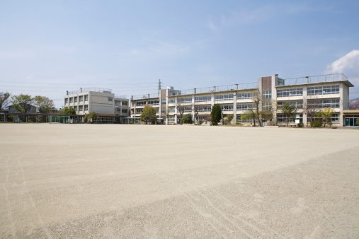 School Building「A school」:スマホ壁紙(9)