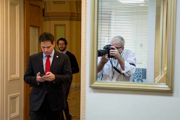 Conference Phone「Senators Marco Rubio And Mike Lee Introduce Their Economic Growth And Family Fairness Tax Reform Plan」:写真・画像(16)[壁紙.com]