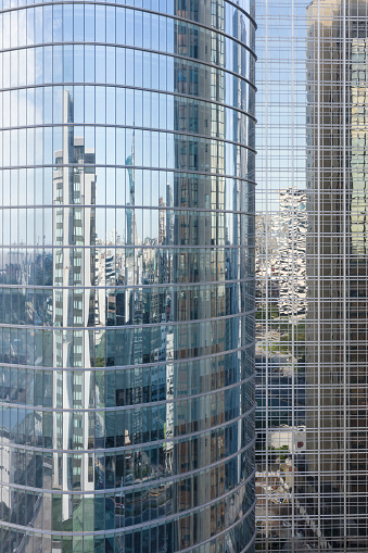 Buenos Aires「Office towers and reflections in Buenos Aires, Argentina」:スマホ壁紙(8)