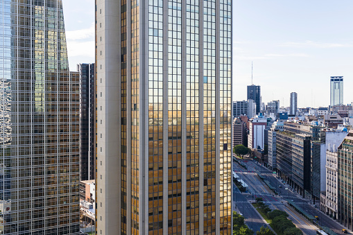 Buenos Aires「Office towers in downtown Buenos Aires, Argentina」:スマホ壁紙(15)