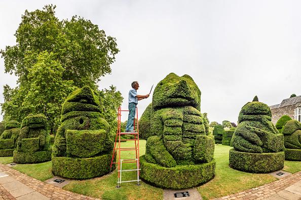 Bestpix「Retired Head Gardener Returns To Trim The Queen's Beasts In Bexley」:写真・画像(15)[壁紙.com]