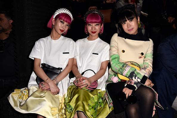 葉・植物「Prada -Arrivals and Front Row: Milan Fashion Week Fall/Winter 2019/20」:写真・画像(9)[壁紙.com]