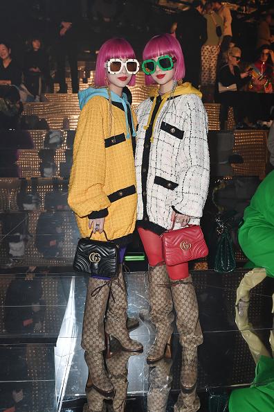 Black Purse「Gucci - Front Row - Milan Fashion Week Autumn/Winter 2019/20」:写真・画像(9)[壁紙.com]