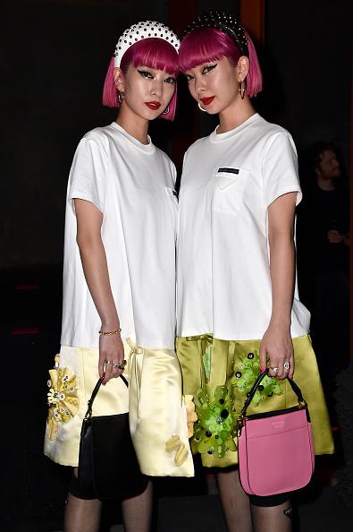 Headband「Prada -Arrivals and Front Row: Milan Fashion Week Fall/Winter 2019/20」:写真・画像(0)[壁紙.com]