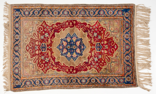 Iranian Culture「Isolated picture of a traditional middle-eastern rug」:スマホ壁紙(2)