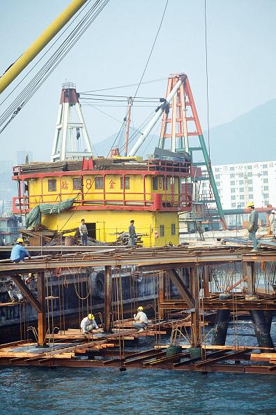 Risk「Civil engineering project in kowloom marina, Hong Kong, China.」:写真・画像(15)[壁紙.com]