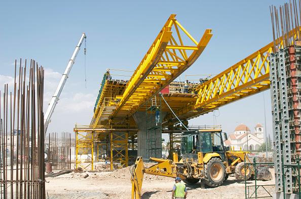 Republic Of Cyprus「Civil Engineering plant and workers on Bridge construction, Limassol, Cyprus」:写真・画像(14)[壁紙.com]