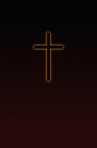Sepia Toned「Outlined cross」:スマホ壁紙(10)
