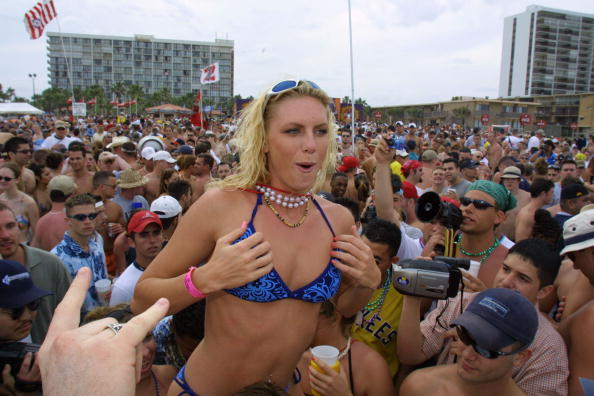 熱さ「Spring Break 2001 on South Padre Island, Texas」:写真・画像(16)[壁紙.com]