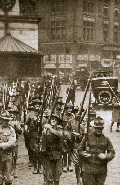 Boston - Massachusetts「State Troops To The Rescue In Boston Massachusetts USA 9 September 1919」:写真・画像(19)[壁紙.com]