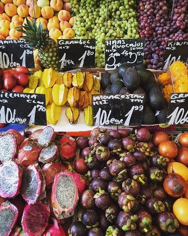 Starfruit「Fruit for sale at Farmers market」:スマホ壁紙(14)