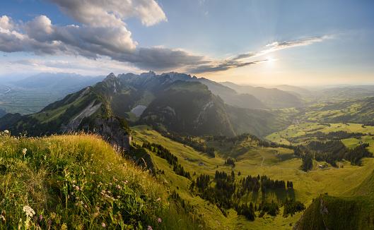 Thunderstorm「View of Alpstein, Switzerland」:スマホ壁紙(19)