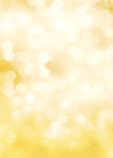 Fading yellow and white dots of light:スマホ壁紙(壁紙.com)
